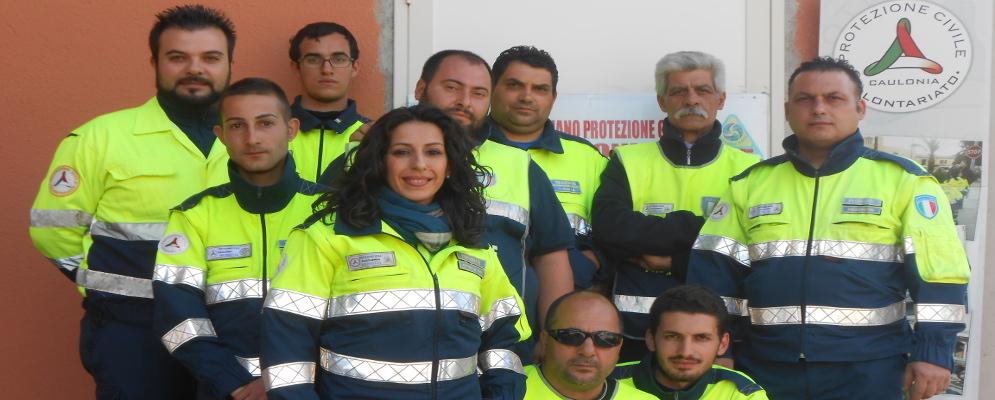 Il grande lavoro della Protezione Civile di Caulonia Marina