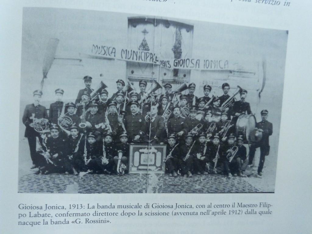 La Banda di Gioiosa Jonica anno 1913