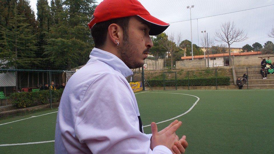Santo Morabito - allenatore del Gioiosa calcio a 5 femminile