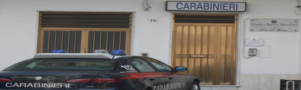 Arrestato un 62enne cauloniese. Denunciato il figlio
