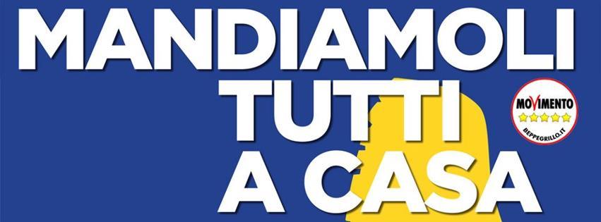 Domani a caulonia banchetto dei grillini ciavula for Movimento 5 stelle parlamento oggi