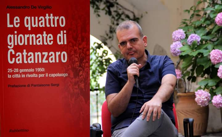 Alessandro De Virgilio e il suo libro