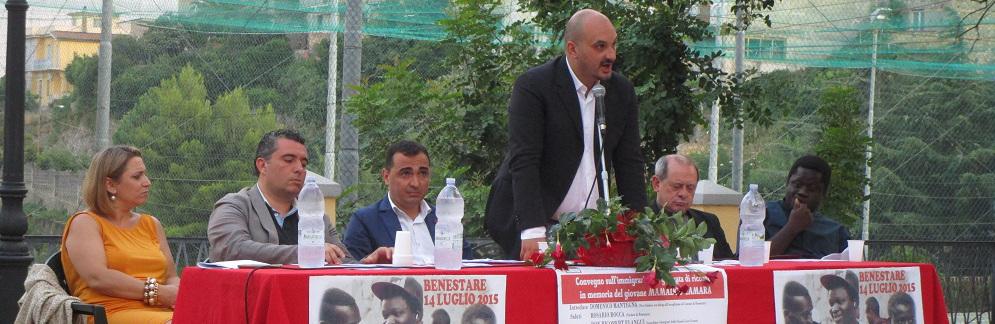 Buon compleanno all'ex sindaco di Benestare Rosario Rocca