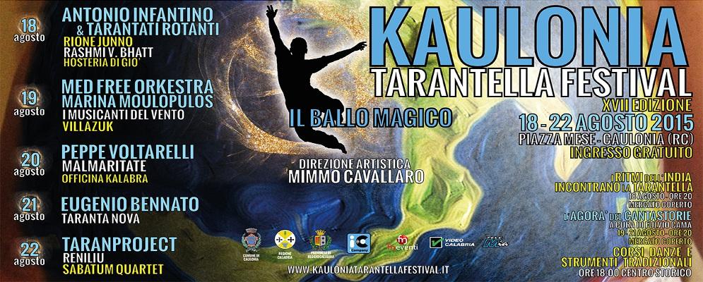 Il servizio di Telemia sul Kaulonia Tarantella Festival