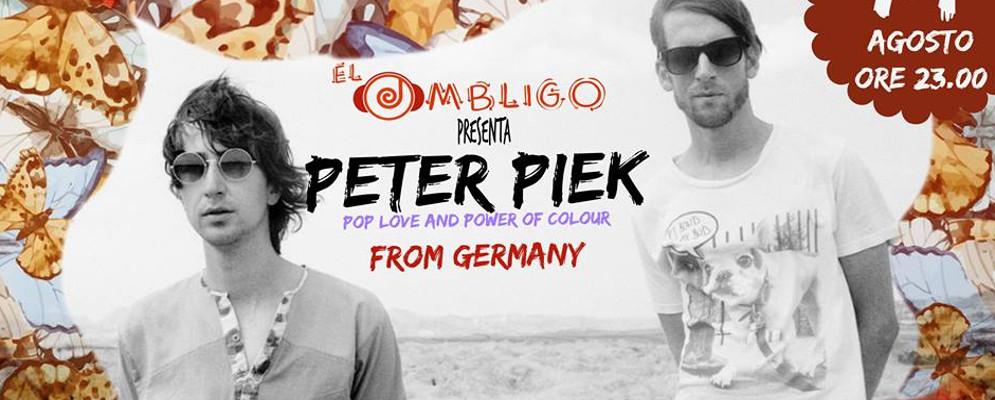 Musica live all' Ombligo de la Luna con Peter Piek