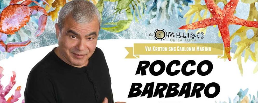 Il comico Rocco Barbaro all' Ombligo de la Luna