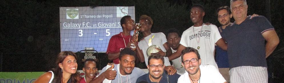 Federica Roccisano ha premiato i campioni del torneo dei popoli di Gioiosa