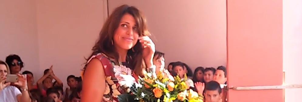 Inizio anno scolastico cauloniese: Federica Roccisano – video