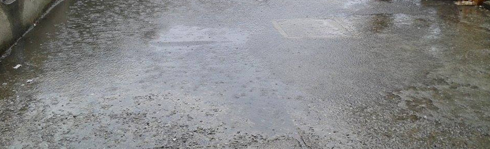 Caulonia: laghetto in piazza Bottari