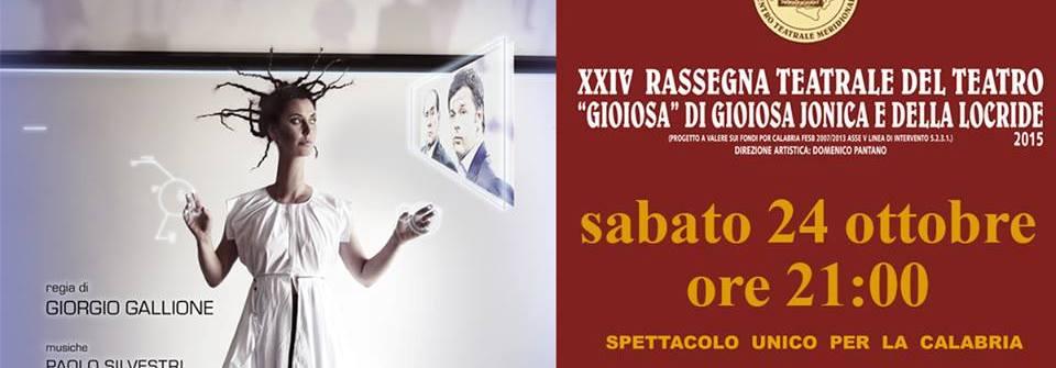Stasera grande anteprima teatrale con Sabina Guzzanti a Gioiosa