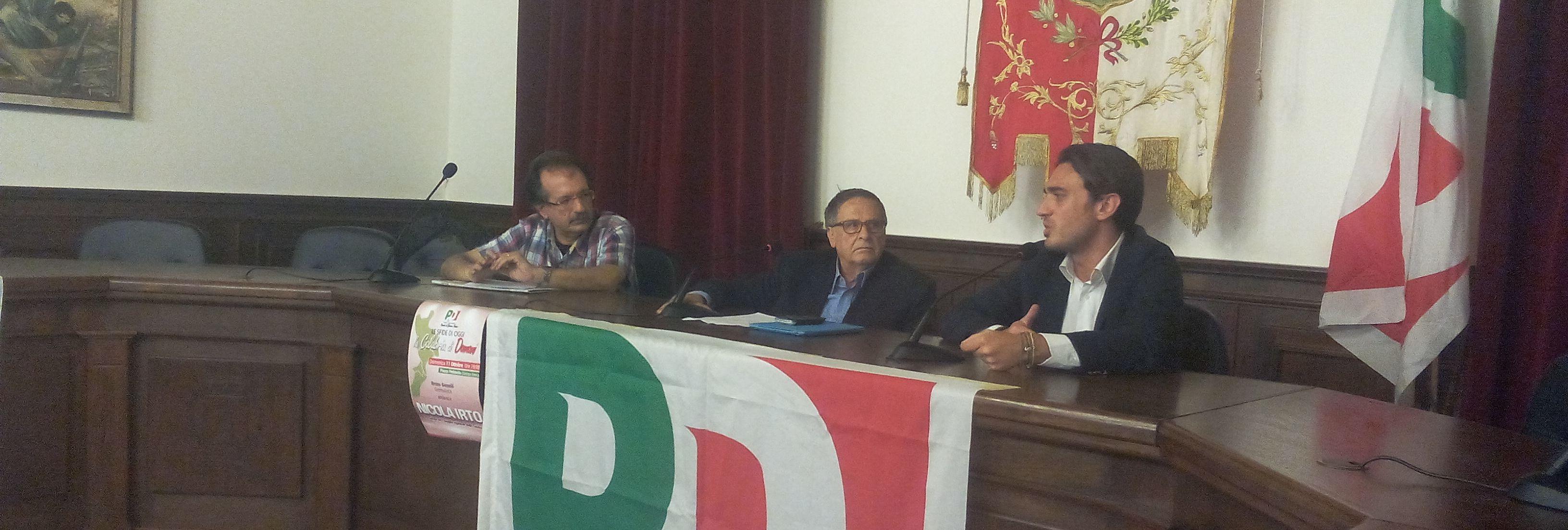 L'iniziativa del PD di Gioiosa Jonica con Nicola Irto