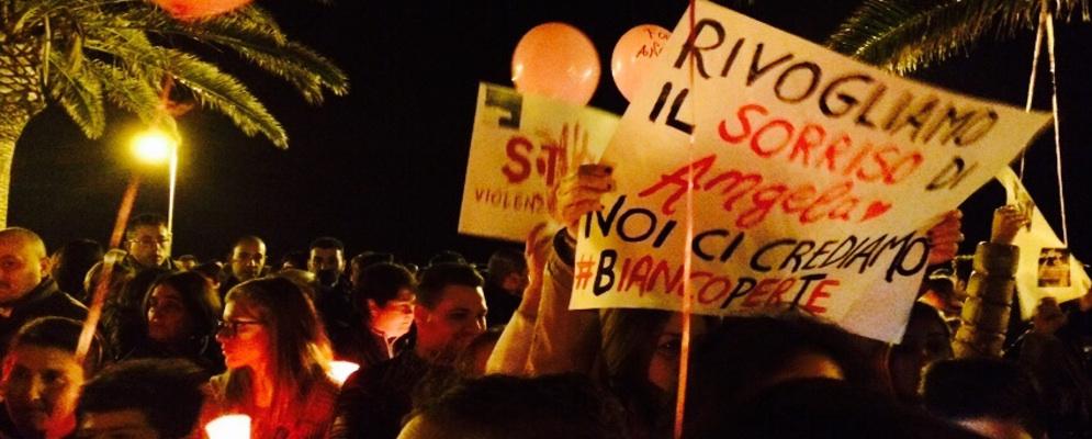 """Bianco:""""Forza Angela"""",fiaccolata contro la violenza sulle donne"""