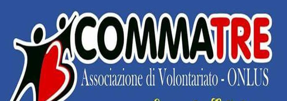 """""""Cena di beneficenza"""" Associazione Comma Tre"""
