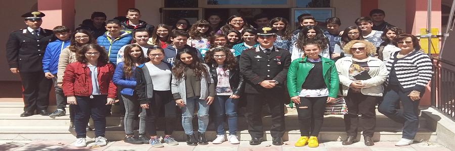 A scuola dai carabinieri