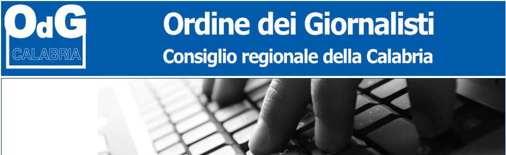 """Ordine Giornalisti: """"Il bollettino del coronavirus della Regione Calabria sia più dettagliato"""""""