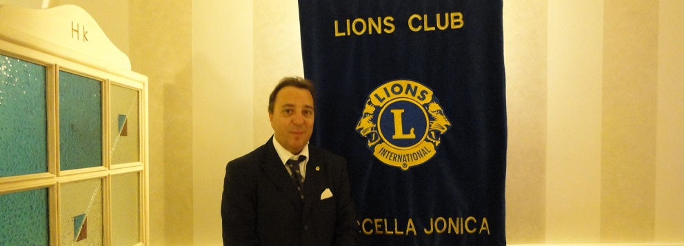 Orazio Violante nuovo Presidente Lions Club di Roccella
