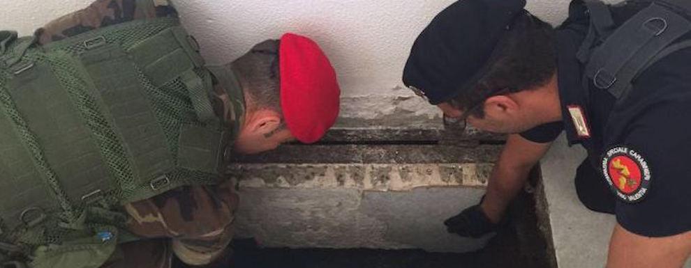 Scoperto bunker 'ndrangheta nel reggino