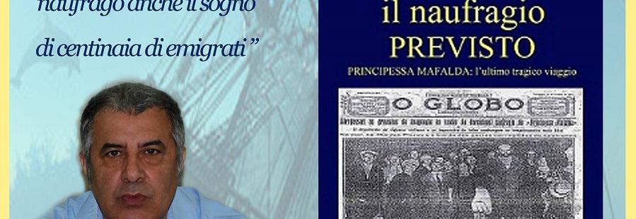 """Gioiosa: PRESENTAZIONE DEL LIBRO """"IL NAUFRAGIO PREVISTO"""""""