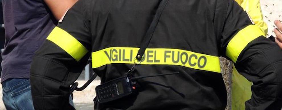 Vigili del fuoco Calabria sui luoghi colpiti dal sisma