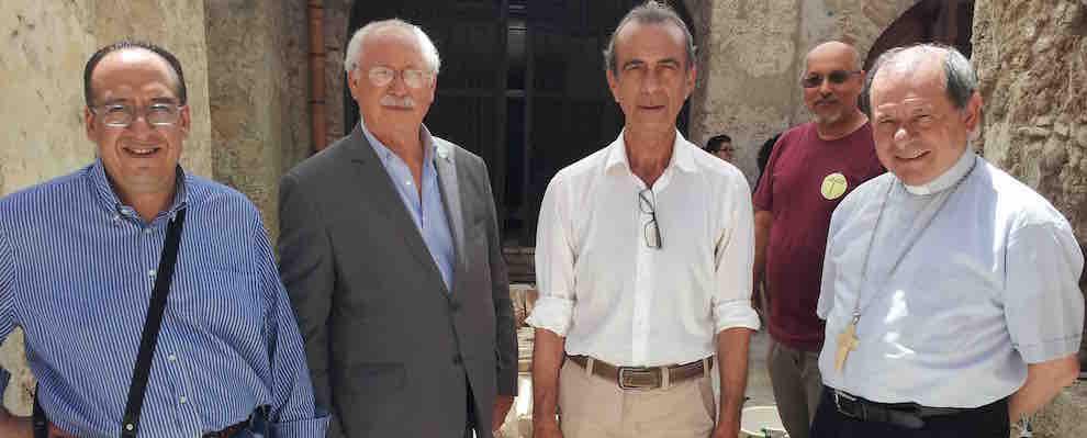 Il Sindaco Giuseppe Pezzimenti incontra il Vescovo della Diocesi di Locri-Gerace