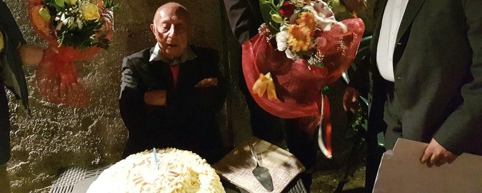Gerace: Giuseppe Pancallo compie 100 anni