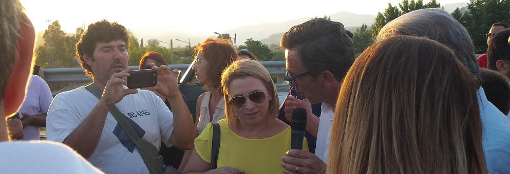 """Belcastro: """"Faremo fare interrogazioni parlamentari sulla questione del Ponte Allaro"""""""