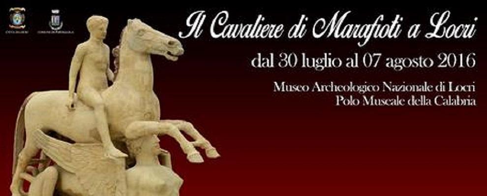 """Da 30 luglio a Locri l'opera """"Cavaliere di Marafioti"""""""