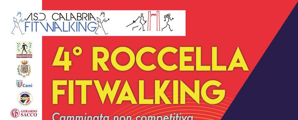 4° FITWALKING A ROCCELLA JONICA
