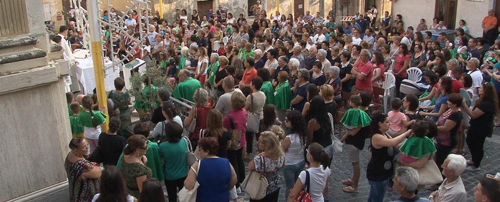 San Rocco Gioiosa: svolta la benedizione dei bambini