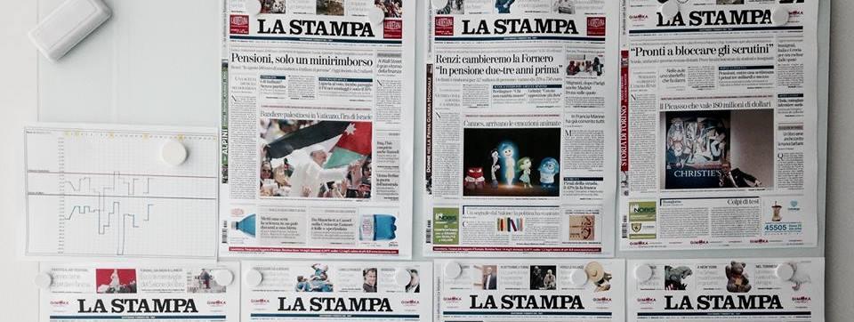 """Il quotidiano """"La Stampa"""" intervista il Sindaco Salvatore Fuda"""
