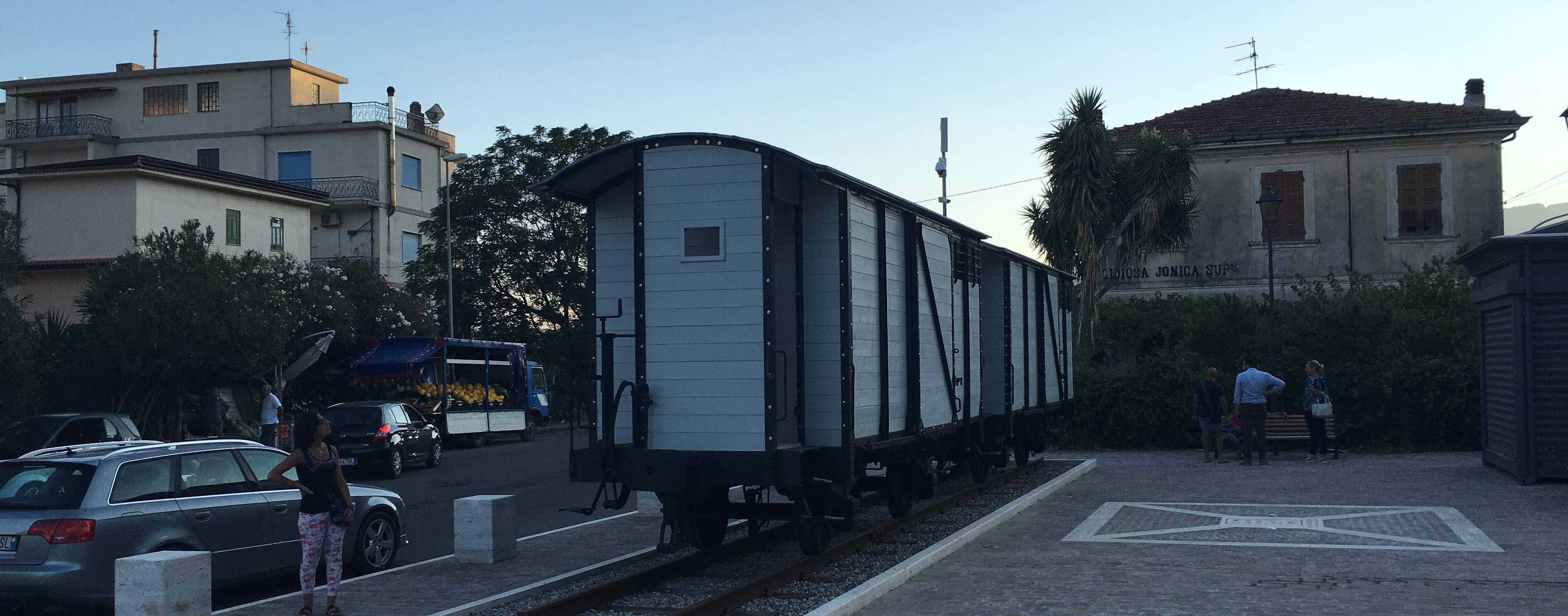 """Un po' di ferrovia """"Calabro-Lucana"""" torna a Gioiosa Jonica"""
