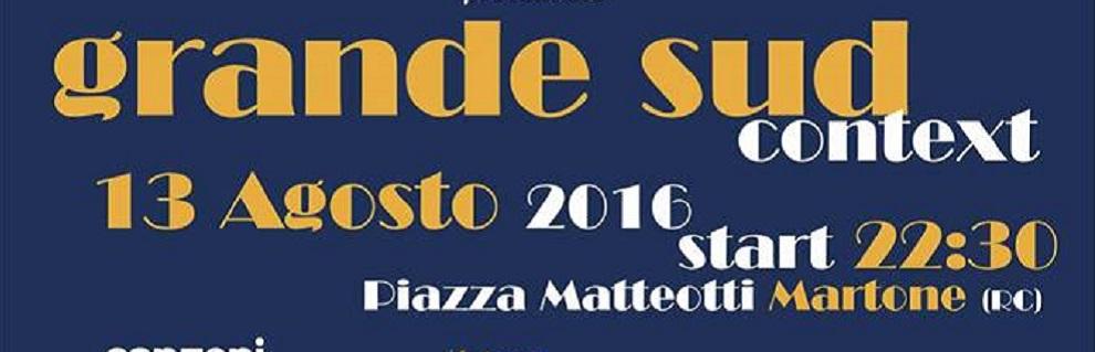 Martone: Grande Sud Context, Eugenio Bennato in concerto