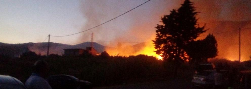 Allerta: Domani tutto il territorio calabrese è a rischio incendi