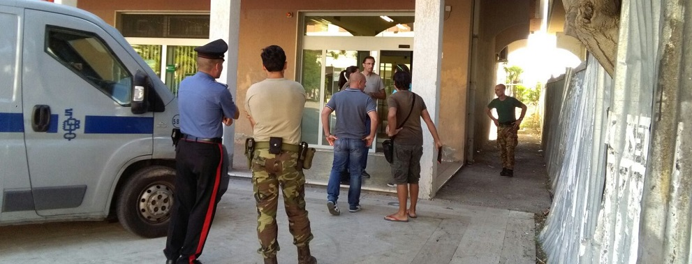 Caulonia marina: tentata rapina al Banco di Napoli. Arresti