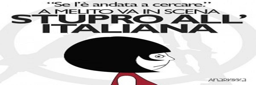 Melito di Porto Salvo, vince l'omertà e la cultura dello stupro