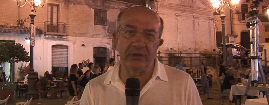 l'assessore Lamberti parla della festa di S. Rocco e della città metropolitana