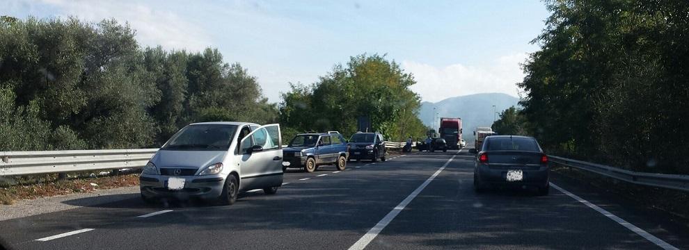 Strada Jonio-Tirreno: incidente all'altezza di Polistena