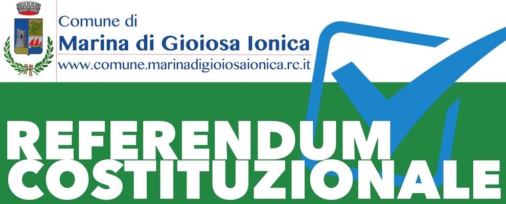 Marina di Gioiosa: incontri approfondimento Referendum Costituzionale 4 Dicembre