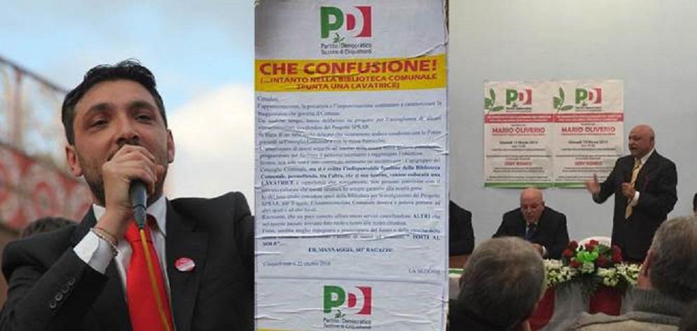Secondo Lac News il Pd di Cinquefrondi è il Pd di Casa Pound e Salvini
