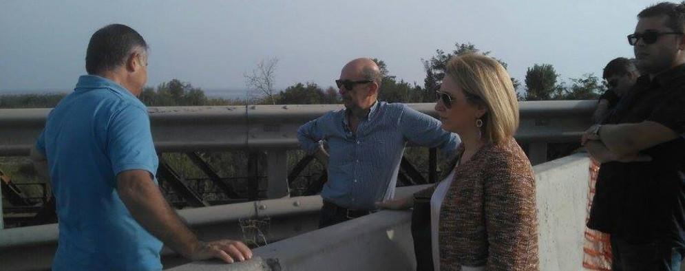Ponte Allaro, il Sindaco di Caulonia in partenza per Roma