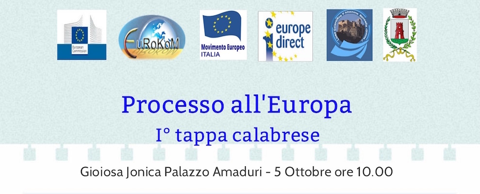Liceo Scientifico Gioiosa Ionica: tappa calabrese del Processo all'Europa