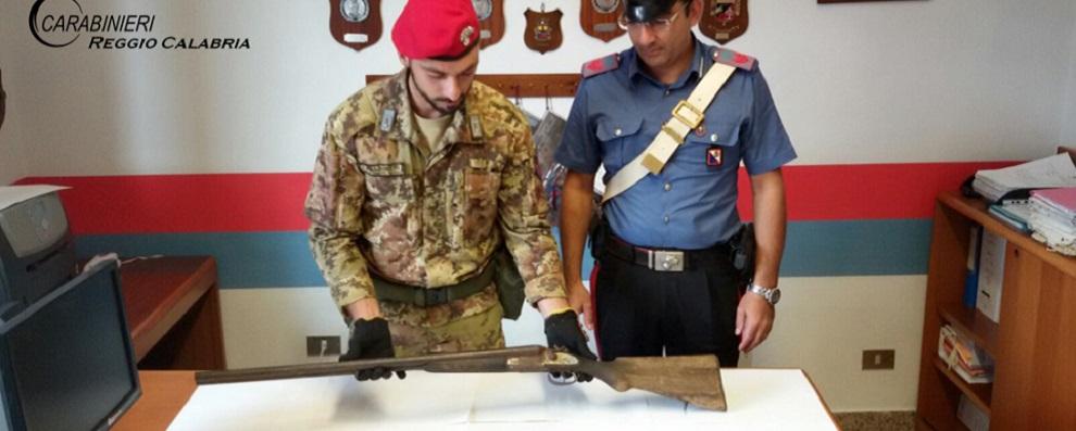 Platì, un arresto per detenzione di armi clandestine e ricettazione.
