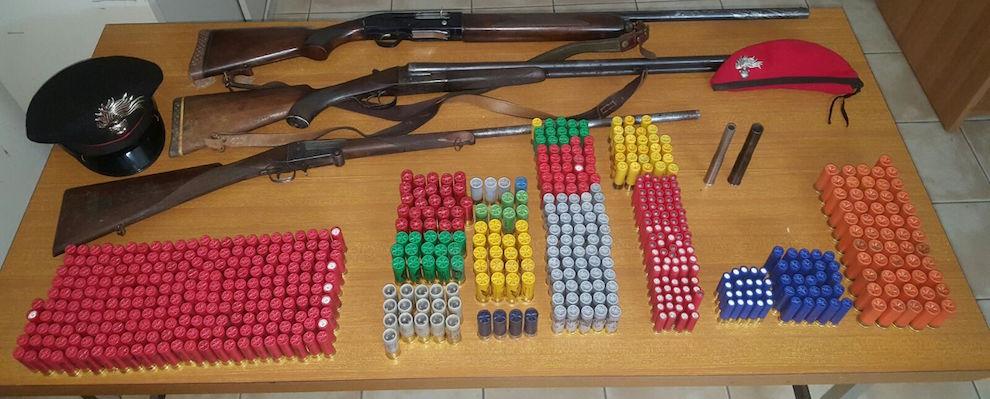 Controlli carabinieri nel reggino: diverse denunce, un arresto per detenzione abusiva di armi