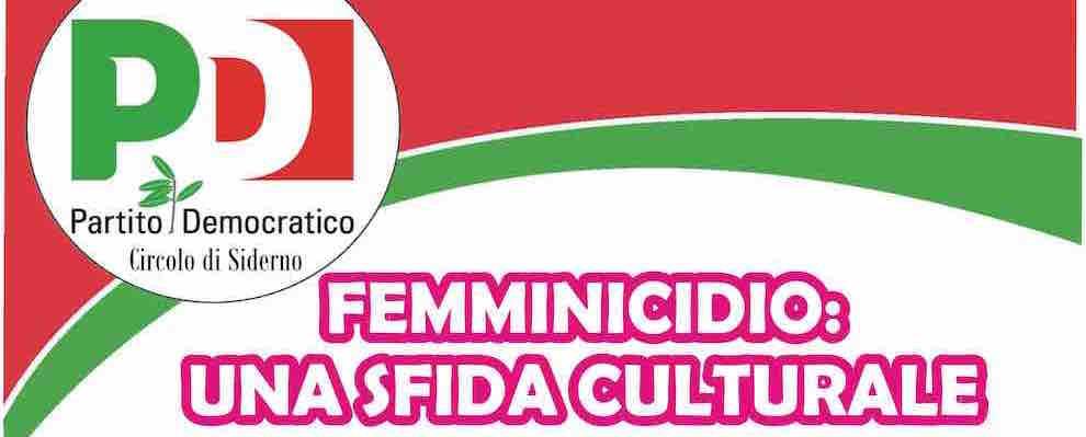 """PD Siderno, incontro """"Femminicidio: una sfida culturale"""""""