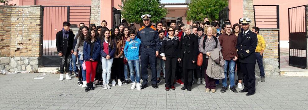 Guardia Costiera incontra le scuole della locride