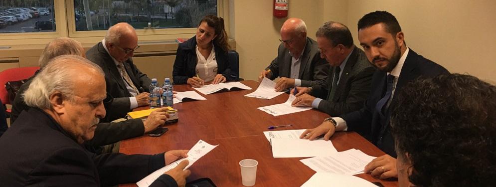 Siglato ieri protocollo d'intesa tra Regione Calabria e Federezioni Sindacali Pensionati