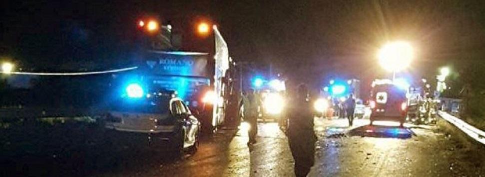 Muore una ragazza di 17 anni in un tragico incidente stradale. Tre persone ferite