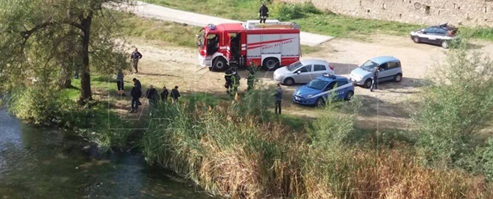 Cosenza, rinvenuto un cadavere nel fiume Crati