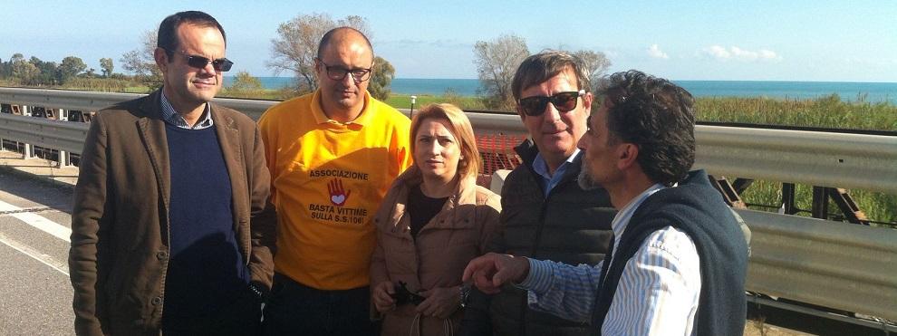 """Rocco Femia: """"La situazione del ponte Allaro sta peggiorando. E a manifestare siamo sempre in pochi"""""""