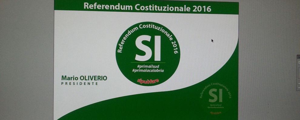 """Reggio Calabria, nasce il comitato """"Reggio verso il Si"""""""